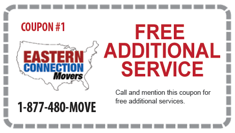 Free Additional Service from Eastern Connection Movers
