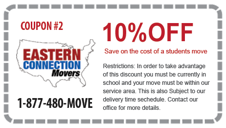 10% off Student Moves