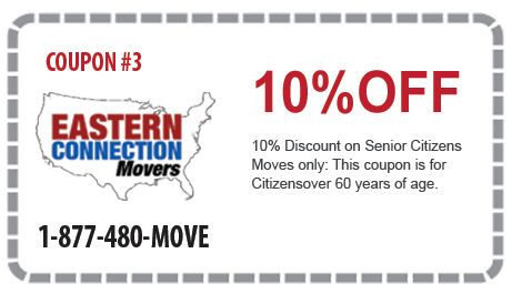 10% off Moves for Senior Citizens