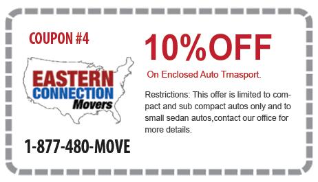 10% off Enclosed Auto Transport