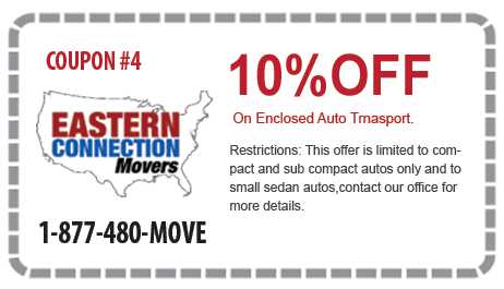 10% off Enclosed Auto Transport