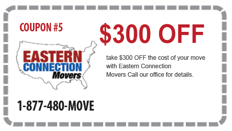 $300 off Interstate Moves